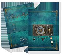 Book of Mysteries - anteckningsbok