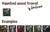 Haunted Woods travel